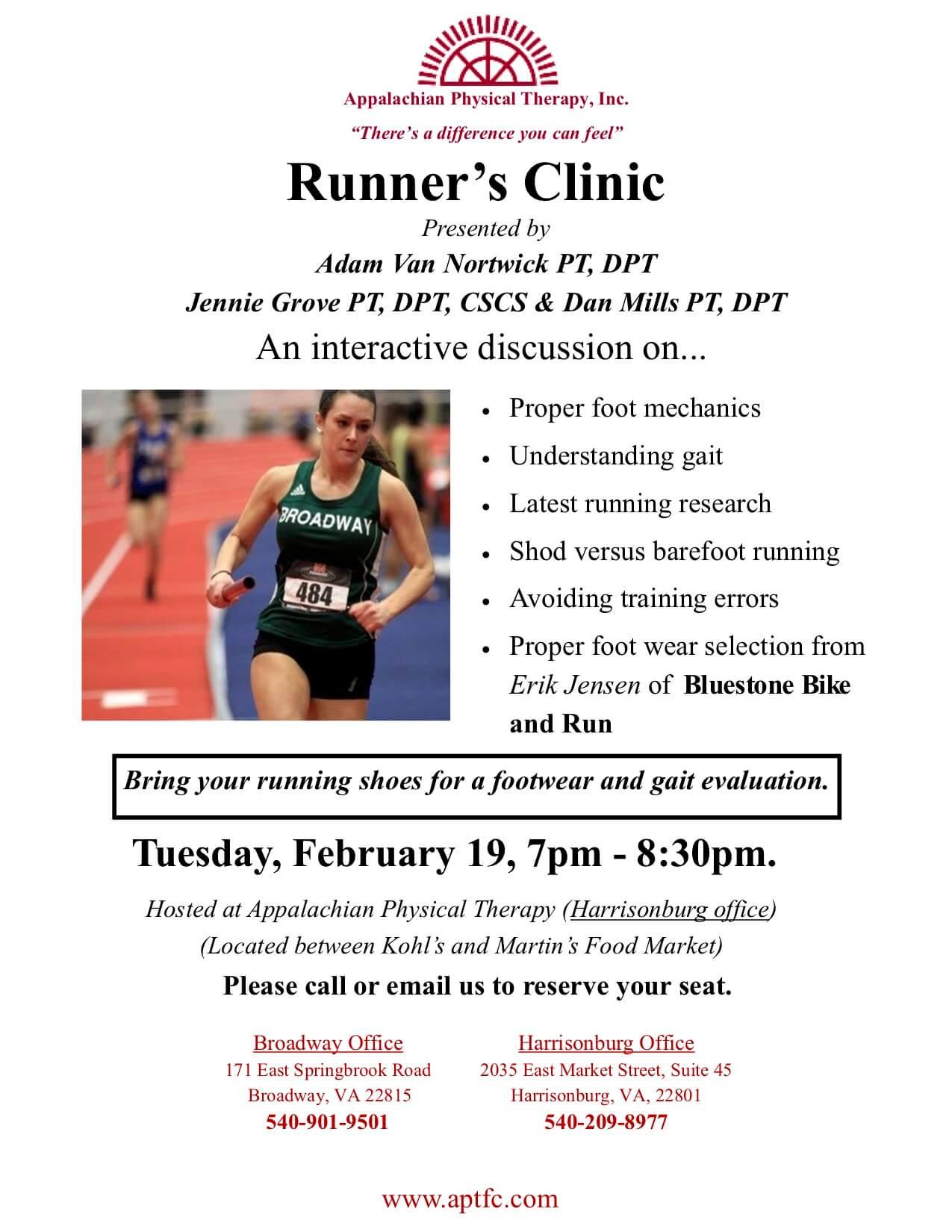 Runner's Clinic 2019